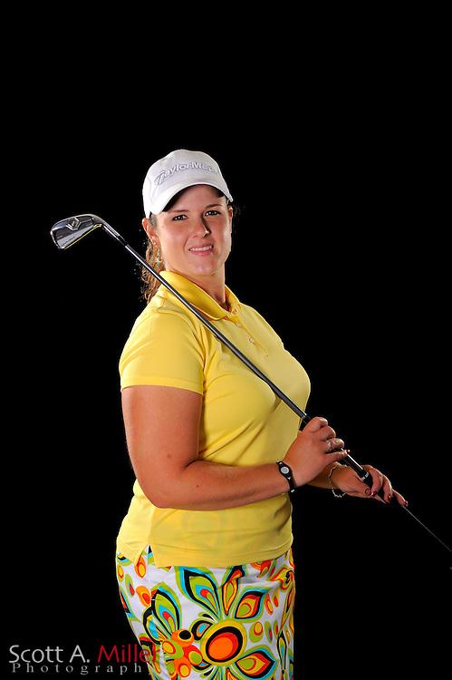 Nikki Hadd during a portrait shoot prior to the LPGA Futures Tour's Daytona Beach Invitational at LPGA International's Championship Courser on March 29, 2011 in Daytona Beach, Florida... ©2011 Scott A. Miller