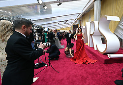 A general view on the red carpet at the 92nd Academy Awards held at the Dolby Theatre in Hollywood, Los Angeles, USA.