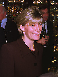 MISS SOPHIE RHYS-JONES, a friend of Prince Edward, at a party in London on 26th November 1997.MDS 57