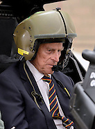 Prince Philip Takes Pilot's Seat of Apache Helicopter
