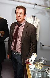 NICKY HASLAM at a party hosted American House and Garden magazine with Tomasz Starzewski and Nina Campbell to celebrate the British Issue of the magazine, held at 14 Stanhope Mews West, London SW7 on 13th March 2005.<br />