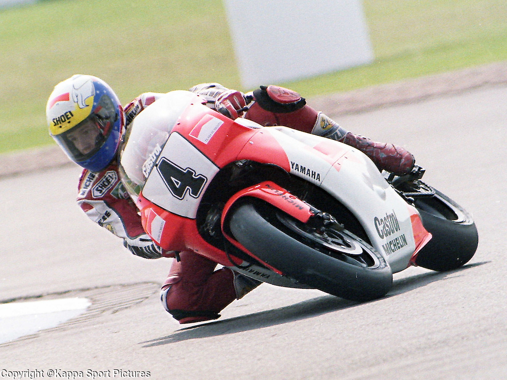 John Kocinski, USA, Marlboro Team Robets, 500cc British Motorcycle Grand Prix, Donington Park, 2nd August 1992