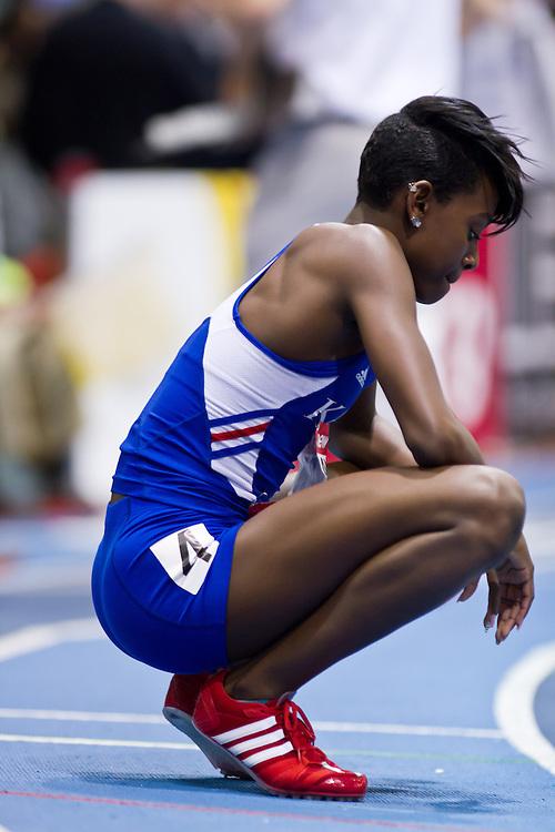 New Balance Indoor Grand Prix track meet: Women's 400 meters, Diamond Dixon