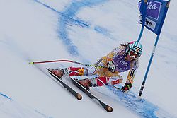 19.12.2010, Val D Isere, FRA, FIS World Cup Ski Alpin, Ladies, Super Combined, im Bild Marie-Michele Gagnon (CAN) whilst competing in the Super Giant Slalom section of the women's Super Combined race at the FIS Alpine skiing World Cup Val D'Isere France. EXPA Pictures © 2010, PhotoCredit: EXPA/ M. Gunn / SPORTIDA PHOTO AGENCY