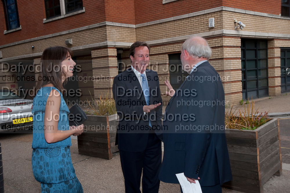 SAMANTHA CAMERON; DAVID CAMERON; CHARLES CLARKE, Summer party hosted by Rupert Murdoch. Oxo Tower, London. 17 June 2009
