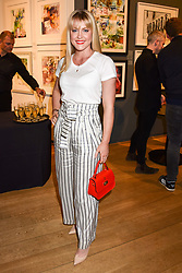 Camilla Kerslake at The Philanthropist After Party held at The Mall Galleries, 17 Carlton House Terrace, London England. 20 April 2017.