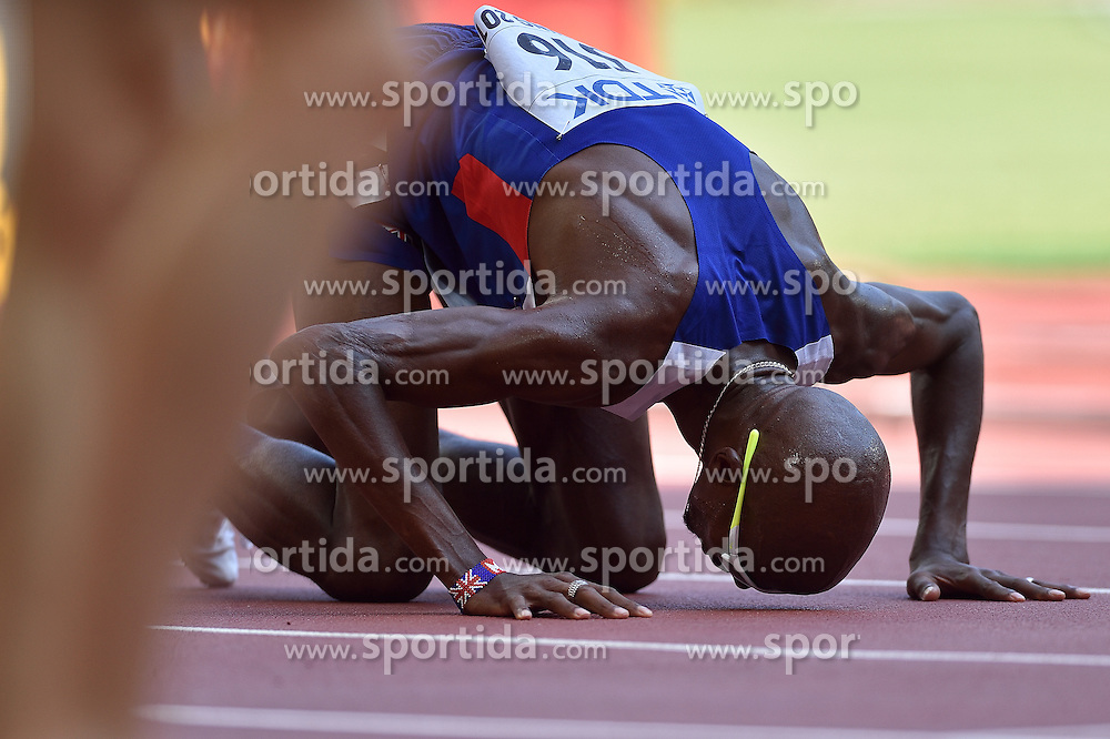 26-08-2015 CHN: IAAF World Championships Athletics day 5, Beijing<br /> Mohamed Farah GBR, 5000 meter<br /> Photo by Ronald Hoogendoorn / Sportida