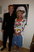 Hon Harry Bridgeman and Lady Bradford. The Sixties  Set, an exhibition of photos by Robin Douglas-Home. the Air Gallery, Dover St. London. 28 June 2005. ONE TIME USE ONLY - DO NOT ARCHIVE  © Copyright Photograph by Dafydd Jones 66 Stockwell Park Rd. London SW9 0DA Tel 020 7733 0108 www.dafjones.com