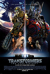 RELEASE DATE: June 23, 2017. TITLE: Transformers: The Last Knight. STUDIO: Paramount Pictures. DIRECTOR: Michael Bay. PLOT: Optimus Prime finding his home planet, Cybertron, now a dead planet, which he comes to find he was responsible for killing. He finds a way to bring the planet back to life, but in order to do so he needs to find an artifact, and that artifact is on Earth. STARRING: Optimus Prime Poster art. (Credit Image: ? Paramount Pictures/Entertainment Pictures/ZUMAPRESS.com)