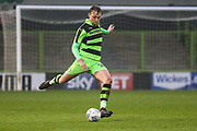 Forest Green Rovers Jon Moran(28) during the Gloucestershire Senior Cup match between Forest Green Rovers and U23 Bristol City at the New Lawn, Forest Green, United Kingdom on 9 April 2018. Picture by Shane Healey.