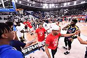 James Mike <br /> FIAT Torino - AX Armani Exchange Milano<br /> Zurich Connect Supercoppa 2018 - Finale -<br /> Legabasket Serie A 2018-2019<br /> Brescia 29/09/2018<br /> Foto M.Matta/Ciamillo & Castoria
