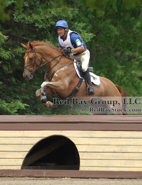 Phillip Dutton and Dario at the 2009 Bromont Three Day Event held in Bromont, Quebec, Canada.