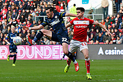 Jack Harrison (22) of Leeds United controls the ball during the EFL Sky Bet Championship match between Bristol City and Leeds United at Ashton Gate, Bristol, England on 9 March 2019.