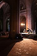 Concert musique classique, Monastere de Brou, Bourg en Bresse, Ain.