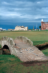UK SCOTLAND ST ANDREWS 1-2JUN04 -  The R & A clubhouse oversees the historic Old Course and its stone bridge. The Royal and Ancient Golf Club of St. Andrews, Fife, Scotland is celebrating its 250th anniversary this year and is the governing authority for the rules of the game in more than 100 affiliated nations and is responsible for the Open Championship and key amateur and international events. The R & A is also dedicated to the development of golf world-wide and is a leader in environmental and ecological research.......jre/Photo by Jiri Rezac....© Jiri Rezac 2004....Contact: +44 (0) 7050 110 417..Mobile:  +44 (0) 7801 337 683..Office:  +44 (0) 20 8968 9635....Email:   jiri@jirirezac.com..Web:     www.jirirezac.com....© All images Jiri Rezac 2004 - All rights reserved...