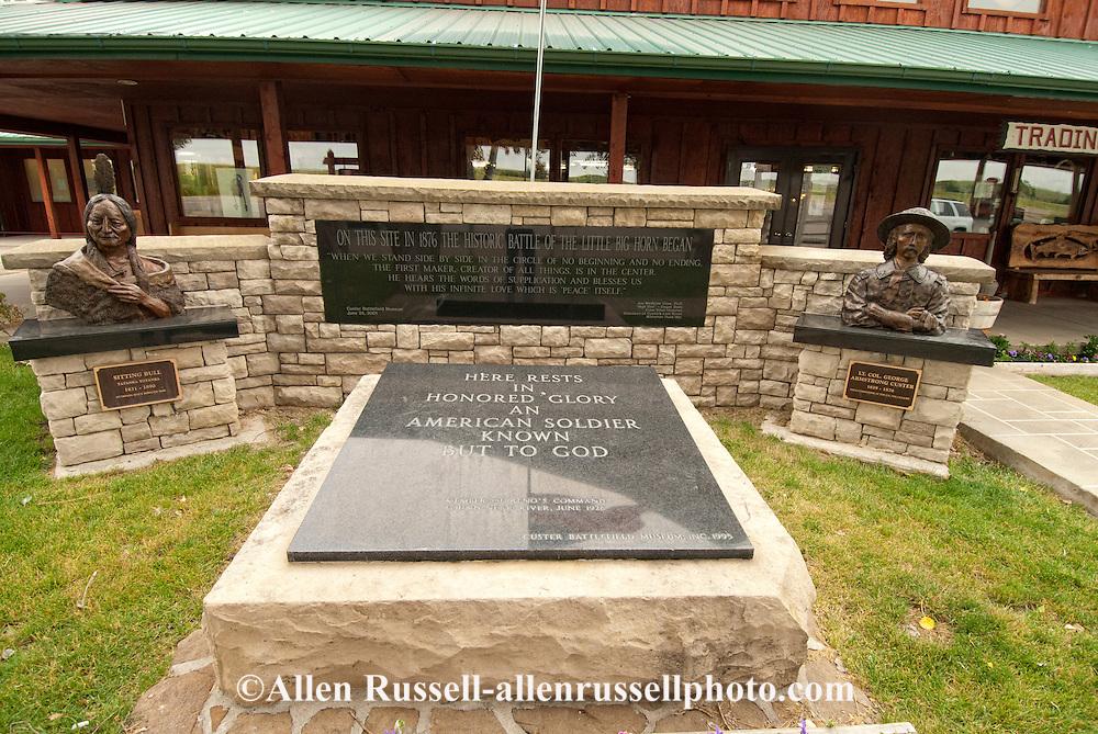 Custer Battlefield Museum, Garryowen, Montana, Crow Indian Reservation