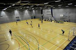 - Photo mandatory by-line: Nizaam Jones - Mobile: 07966 386802 - 08/02/2015 - SPORT - Football - Gloucestershire - GL1 Leisure Centre - Gloucestershire Futsal v BCFC Futsal - Futsal
