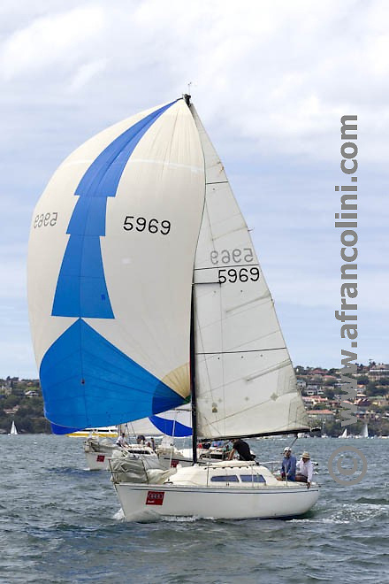 SAILING - Audi Sydney Harbour Regatta 2011, Middle Harbour Yacht club, Sydney - 4-7/03/2011 <br />