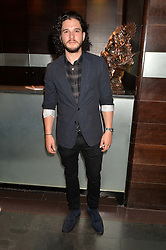 KIT HARINGTON at the West End opening night of 'Great Britain' a  play by Richard Bean held at The Theatre Royal, Haymarket, London followed by a post show party at Mint Leaf, Suffolk Place, London on 26th September 2014.