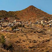 Panoramic view of Jerome - AZ