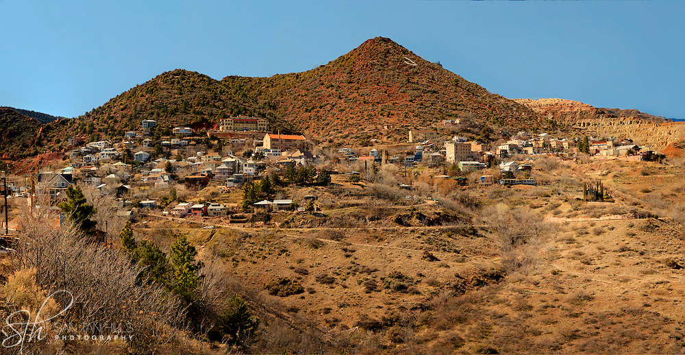 Panoramic view of Jerome - AZ