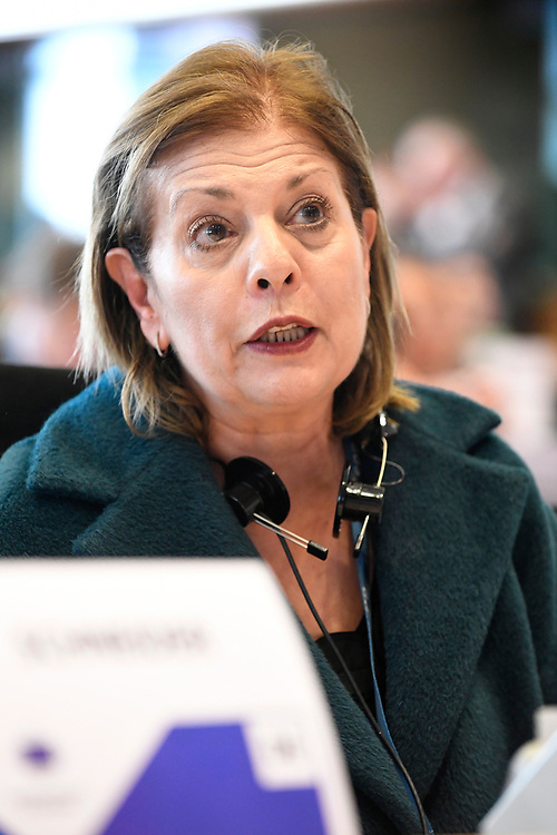 12 May 2017, 123rd Plenary Session of the European Committee of the Regions <br /> Belgium - Brussels - May 2017 <br /> <br /> LOUKAIDOU Eleni <br /> &copy; European Union / Fred Guerdin