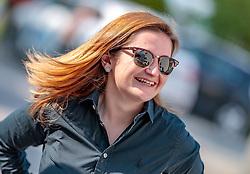 22.04.2018, Wahlzentrum, Salzburg, AUT, Salzburger Landtagswahl, im Bild FPÖ Spitzenkandidatin Marlene Svazek // during the Salzburg state election 2018 in the election center in Salzburg, Austria on 2018/04/22. EXPA Pictures © 2018, PhotoCredit: EXPA/ JFK