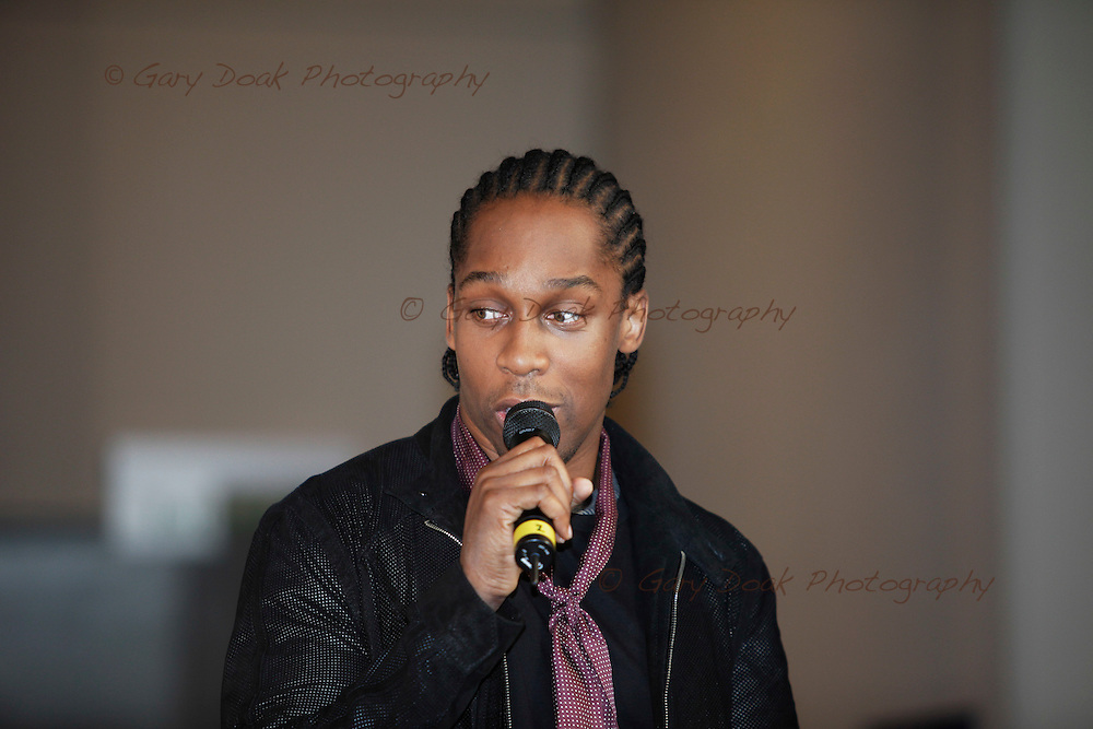 Lemarr supports the announcement that the MOBO awards are coming to Glasgow in 2009..