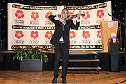 Richard Sanderson during the National League Gala Awards Evening at Celtic Manor Resort, Newport, South Wales on 9 June 2018. Picture by Shane Healey.