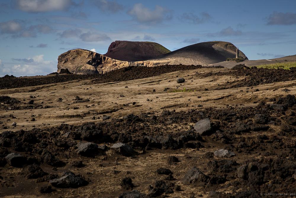 Capelinhos volcano. Faial, Azores, Portugal