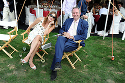 WILLAIM & VANESSA CASH at the Cartier International Polo at Guards Polo Club, Windsor Great Park on 27th July 2008.<br /> <br /> NON EXCLUSIVE - WORLD RIGHTS
