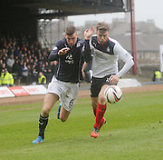 Iain Davidson and Rory Loy - Dundee  v Falkirk - SPFL Championship at Dens Park<br /> <br />  - &copy; David Young - www.davidyoungphoto.co.uk - email: davidyoungphoto@gmail.com