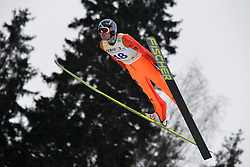 12.02.2013, Vogtland Arena, Kingenthal, GER, FIS Ski Sprung Weltcup, im Bild Dimitry VASSILIEV (RUS) // during the FIS Skijumping Worldcup at the Vogtland Arena, Kingenthal, Germany on 2013/02/12. EXPA Pictures © 2013, PhotoCredit: EXPA/ Eibner/ Bert Harzer..***** ATTENTION - OUT OF GER *****