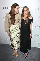 Elle Women in Hollywood Awards - Los Angeles. 16 Oct 2017 Pictured: Riley Keough, Lisa Marie Presley. Photo credit: Jaxon / MEGA TheMegaAgency.com +1 888 505 6342