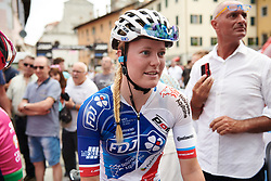 Rozanne Slik (NED) at Giro Rosa 2018 - Stage 10, a 120.3 km road race starting and finishing in Cividale del Friuli, Italy on July 15, 2018. Photo by Sean Robinson/velofocus.com