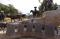 Spanish-Tejano-Mexican Heritage Statue at Texas Capitol