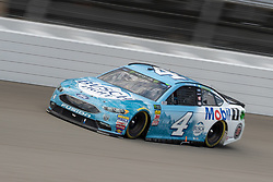 August 12, 2018 - Brooklyn, MI, U.S. - BROOKLYN, MI - AUGUST 12: Monster Energy NASCAR Cup Series driver Kevin Harvick (4) during the Monster Energy NASCAR Cup Series Consumers Energy 400 at Michigan International Speedway on August 12, 2018 in Brooklyn, Michigan.(Photo by Adam Lacy/Icon Sportswire) (Credit Image: © Adam Lacy/Icon SMI via ZUMA Press)