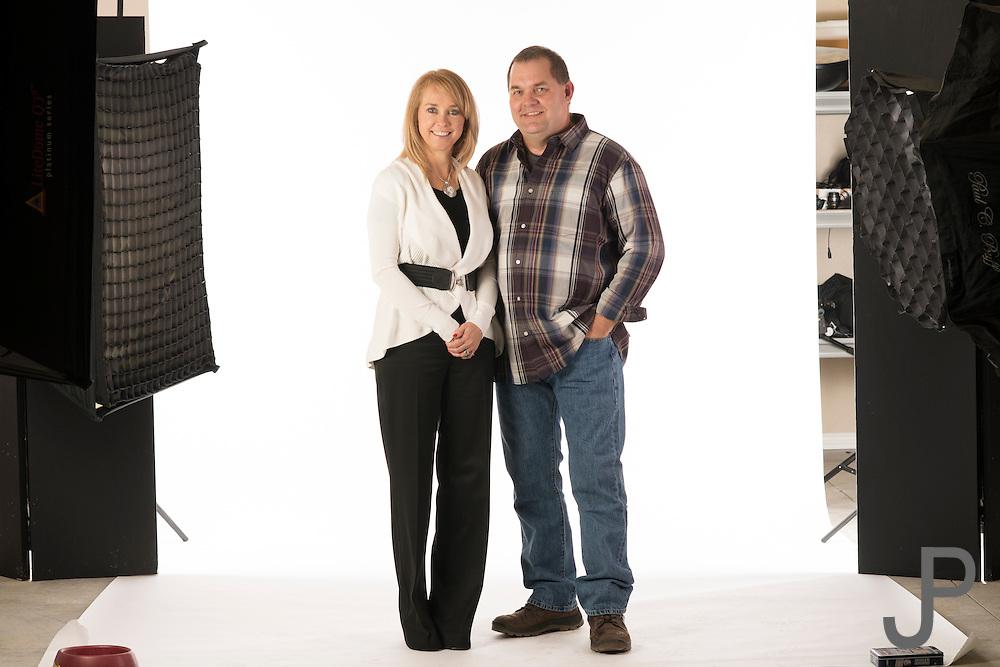 Photos in studio for KayPratt.com real estate