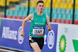 David Leavy, IRE warming up for the T38 1500m at the Berlin 2018 World Para Athletics European Championships