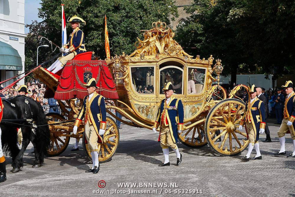 NLD/Den Haag/20100921 - Prinsjesdag 2010, de Gouden Koets,