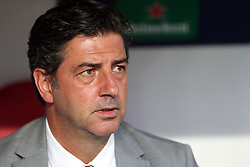 August 21, 2018 - Lisbon, Portugal - Benfica's head coach Rui Vitoria during the UEFA Champions League play-off first leg match SL Benfica vs PAOK FC at the Luz Stadium in Lisbon, Portugal on August 21, 2018. (Credit Image: © Pedro Fiuza via ZUMA Wire)