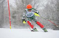 Francis Piche Slalom U14 Mens Sunday, March 15, 2015.  Karen Bobotas Photographer