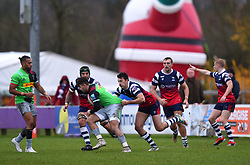 Leonardo Sarto of Bristol Bears United in action against Harlequins XV - Mandatory by-line: Paul Knight/JMP - 02/12/2018 - RUGBY - Clifton RFC - Bristol, England - Bristol Bears United v Harlequins - Premiership Rugby Shield