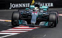 May 27, 2017 - Monte-Carlo, Monaco - Lewis Hamilton of Great Britain and AMG Petronas Mercedes driver goes during the qualification on Formula 1 Grand Prix de Monaco on May 27, 2017 in Monte Carlo, Monaco. (Credit Image: © Robert Szaniszlo/NurPhoto via ZUMA Press)
