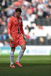 MK Dons goalkeeper David Martin (1)  - Photo mandatory by-line: Nigel Pitts-Drake/JMP - Tel: Mobile: 07966 386802 29/03/2014 - SPORT - FOOTBALL -  Stadium MK - Milton Keynes - Milton Keynes Dons v Wolverhampton Wanderers - Sky Bet League One