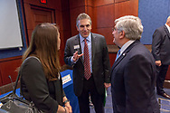 David Arons, CEO of NBTS, speaks during the National Brain Tumor Society congressional briefing event at the U.S. Capitol Building visitors center on May 15, 2018. (Photo by Alan Lessig)