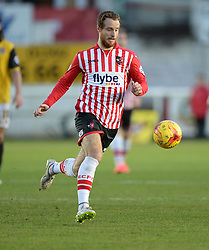 Exeter City's Ryan Harley - Photo mandatory by-line: Alex James/JMP - Mobile: 07966 386802 - 10/01/2015 - SPORT - football - Exeter - St James Park - Exeter City v Northampton - Sky Bet League Two