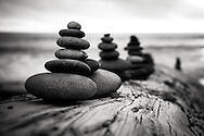 Cairns on Rialto Beach | August 2014