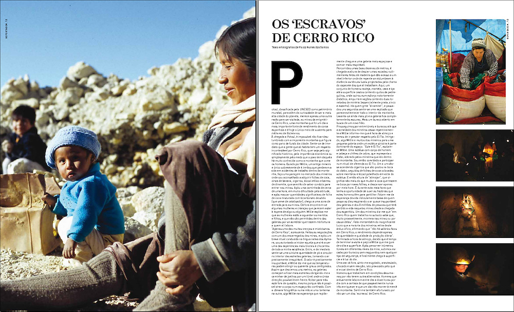 Os 'escravos' de Cerro Rico - A23 Magazine