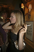 Hermione Air, Plum Sykes, book launch party, Annabel's, Berkeley Square, London, W1,10 May 2006.  Matthew Williamson, Catherine Vautrin, Laudomia Pucci host party to celebrate 'The Debutante Divorcee'. ONE TIME USE ONLY - DO NOT ARCHIVE  © Copyright Photograph by Dafydd Jones 66 Stockwell Park Rd. London SW9 0DA Tel 020 7733 0108 www.dafjones.com